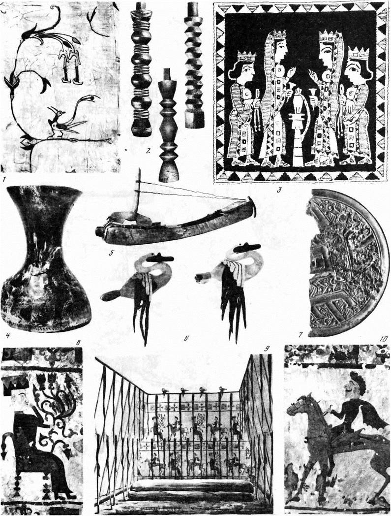 Таблица 65. Ранние кочевники Алтая. Импортные изделия