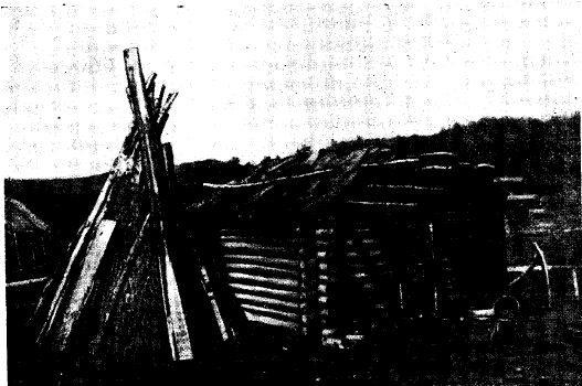 Шалаш (кууш) и сруб (бурама) (начале XX в.)