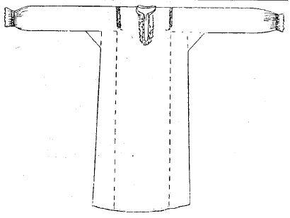 Женская рубашка у верховых чувашей