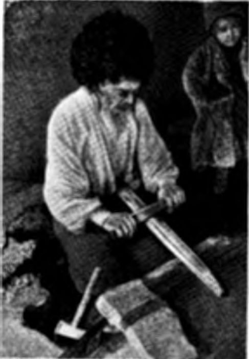 Производство кинжальных клинков (аул Амузги)