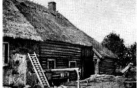 Эстонский старый жилой дом
