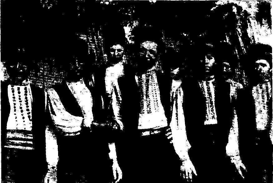 Группа гагаузов (фото 1947 г.)