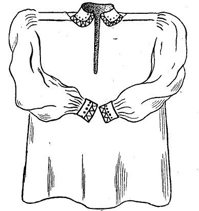 Женская рубаха (marskinai)