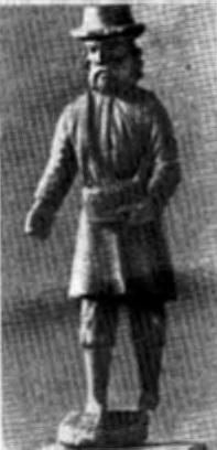 Литовская народная скульптура, св. Исидор (XIX в.)
