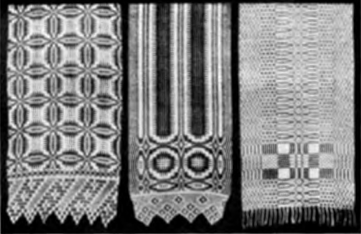 Узорчатые полотенца