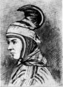 Старый женский головной убор лопарей
