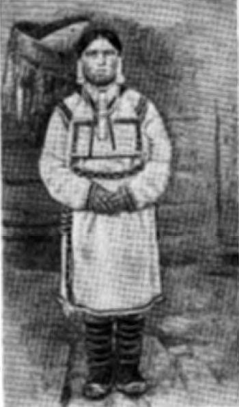 Марийский девичий костюм (вторая половина XIX в.)