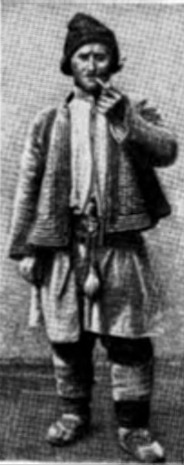 Пастух-молдаванин (Бессарабская губ., начало XX в.)
