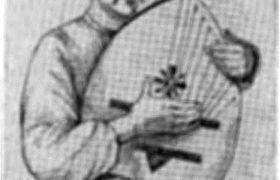 Украинский слепец-бандурист (со старинного рисунка)