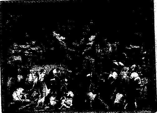 Шкатулка с росписью по лаку (Палех)