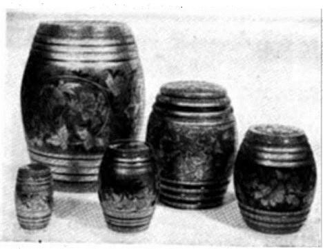 Образцы росписи по дереву (хохломская роспись)