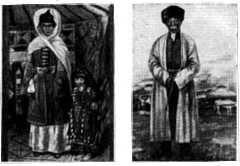 Ногайцы в национальной одежде