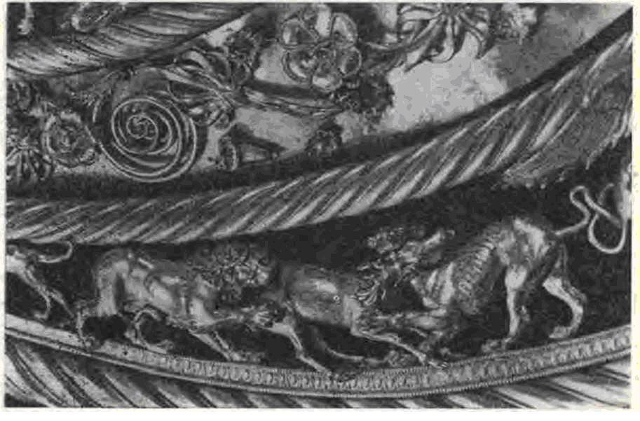 Детали пекторали из Толстой могилы.