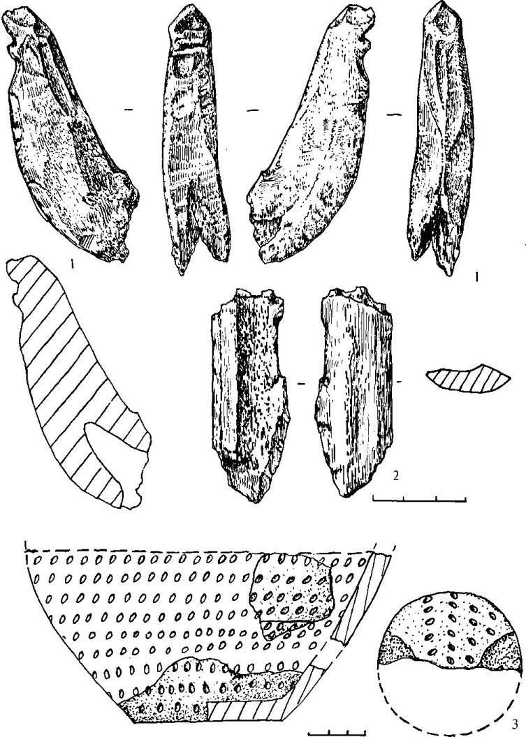 Находки из поселения Гульбище. Ранний бронзовый век.