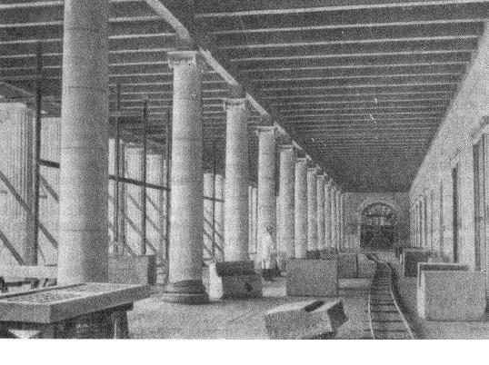 Рис. 4. Стоя Аттала (внутренний вид с севера); реконструкция