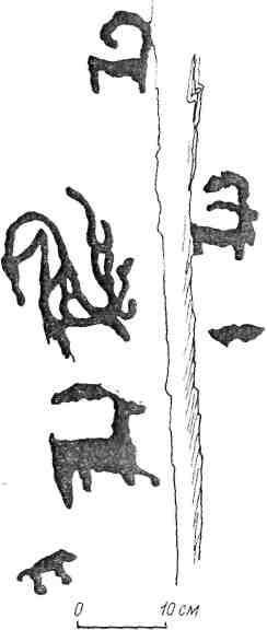 Рис 48. Горный Алтай. Большие Скалы [Сорокин, 1967]