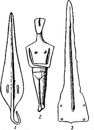 Рис. 23. Инвентарь одной из гробниц. Аморгос.