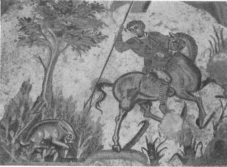 Рис. 6. Деталь мозаики из Пьяцца Армерина