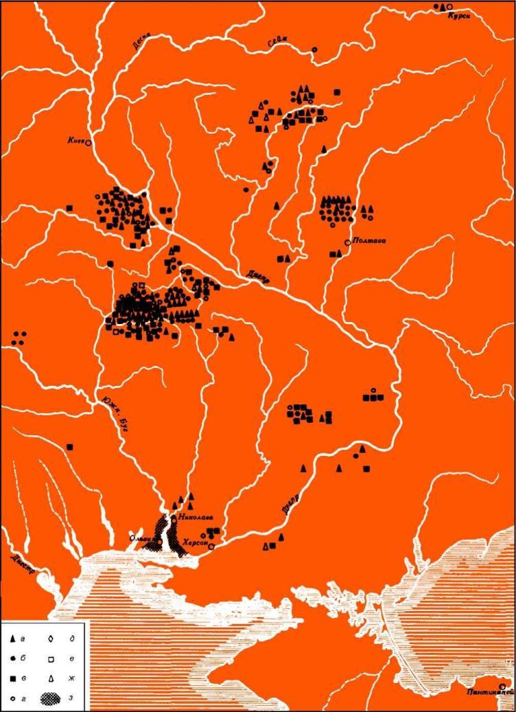 Античный импорт в Восточной Европе (по Н.А. Онайко)