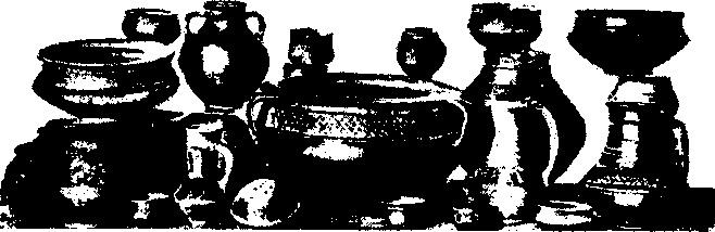 Рис. 2. Формы приднепровской керамики эпохи полей погребальных урн