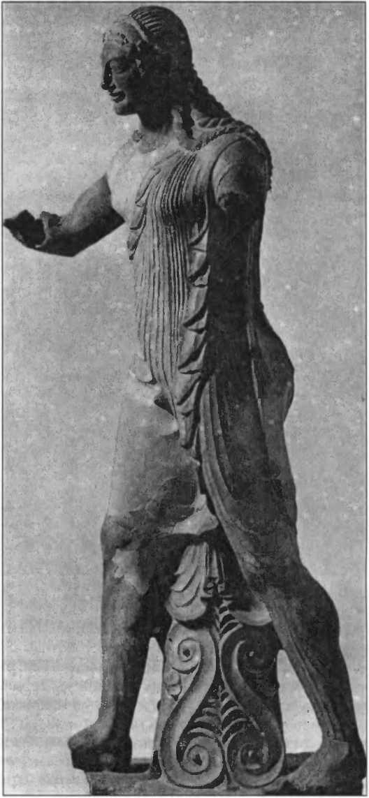 Бог Аполлон. Вейи. Ок. 500г. до н.э.