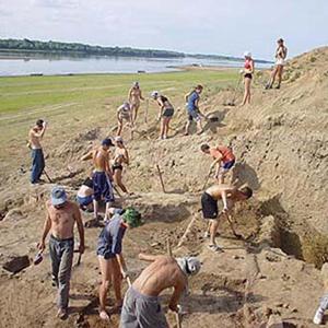 Археологические работы