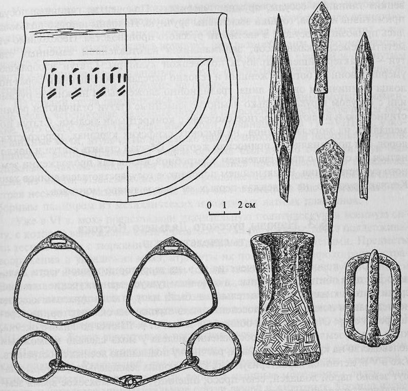 Археологические предметы начала II тысячелетия из курганов и городищ лесной территории Западной Сибири (по Л.М. Плетневой)