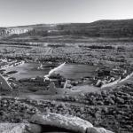 Рис. 17.10. Пуэбло Бонито в каньоне Чако, штат Нью-Мексико