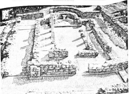 Рис. 37. Рештки базиліки 1889 р. в Херсонесі (фото С. Г. Рижова)