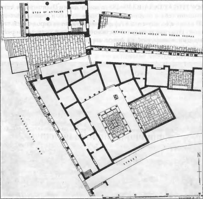План библиотеки римлянина Тита Флавия Пантена. Ок. 100 г. до н.э.