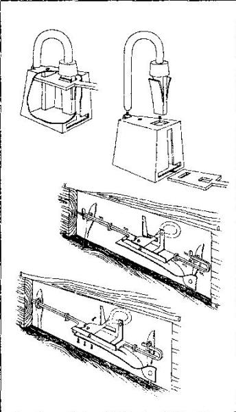 Рис. 59. Реконструкция дверных замков.
