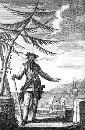 Эдвард Тич, он же - капитан Черная Борода
