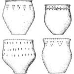 Рис. 142. Керамика Бондарихинской культуры
