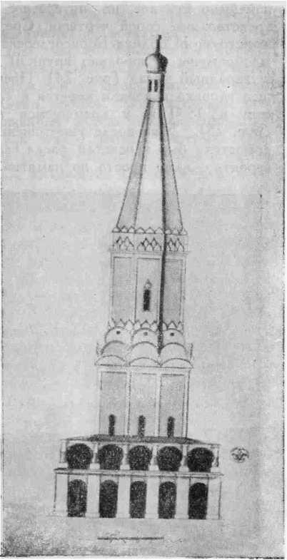 Рис. 24. Западный фасадБорисоглебской церкви в Цареве Борисове городке