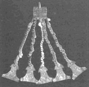 Троя II: золотая серьга-«корзиночка»