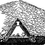 Рис. 97. Лейбингенский курган в разрезе.