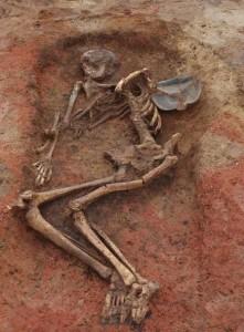 Захоронение женщины 3 в. н.э. Фото Адрианы Романски