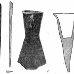 Рис. 54. Древнейшие бронзовые изделия Чача.
