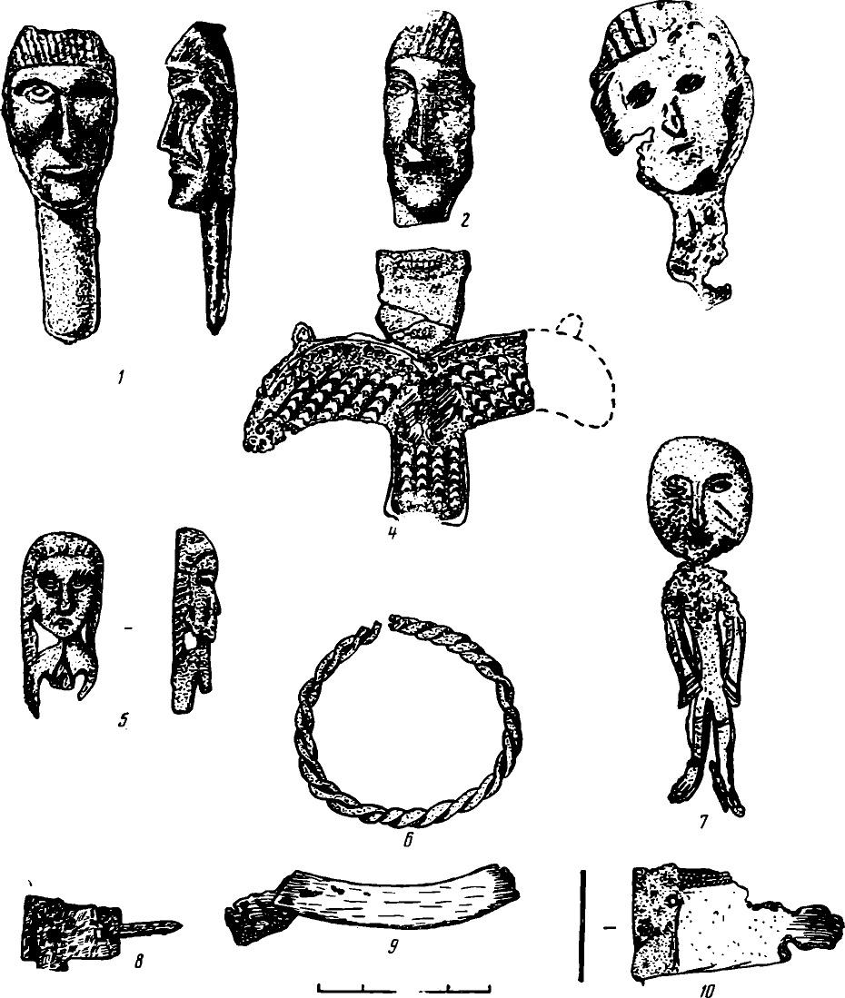 Рис. 2. Погребальный комплекс кургана № 6 Релкинского могильника