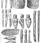 Памятники изобразительного творчества верхнею палеолита: По З.А. Абрамовой