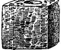 Рис. 48. Кубический глиняный сосуд. Стреличи I, Моравия.