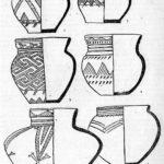Табл. 7. Керамика из могильников эпохи оронзы у д. Еловка