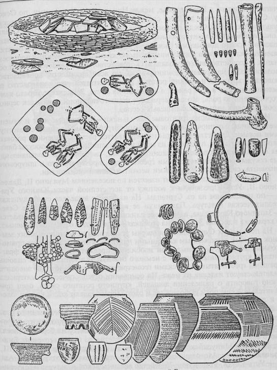 Энеолит скотоводов степной Евразии.  Афанасьевская культура (по Э.Б. Вадецкой)