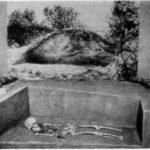 Рис. 3. Курган у с. Ольгин Крест. XII в. (макет)