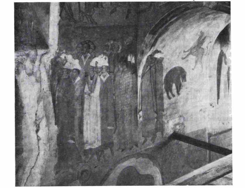 Рис 2. Дионисий. «Народы» (фрагмент композиции «Страшный суд» Ферапонтова монастыря)