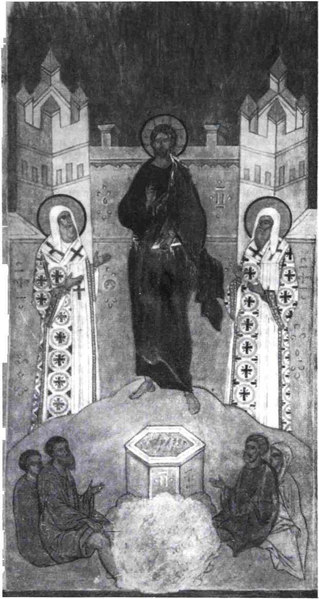 Рис. 8. Дионисий. Фреска «Пение всякое побеждается»