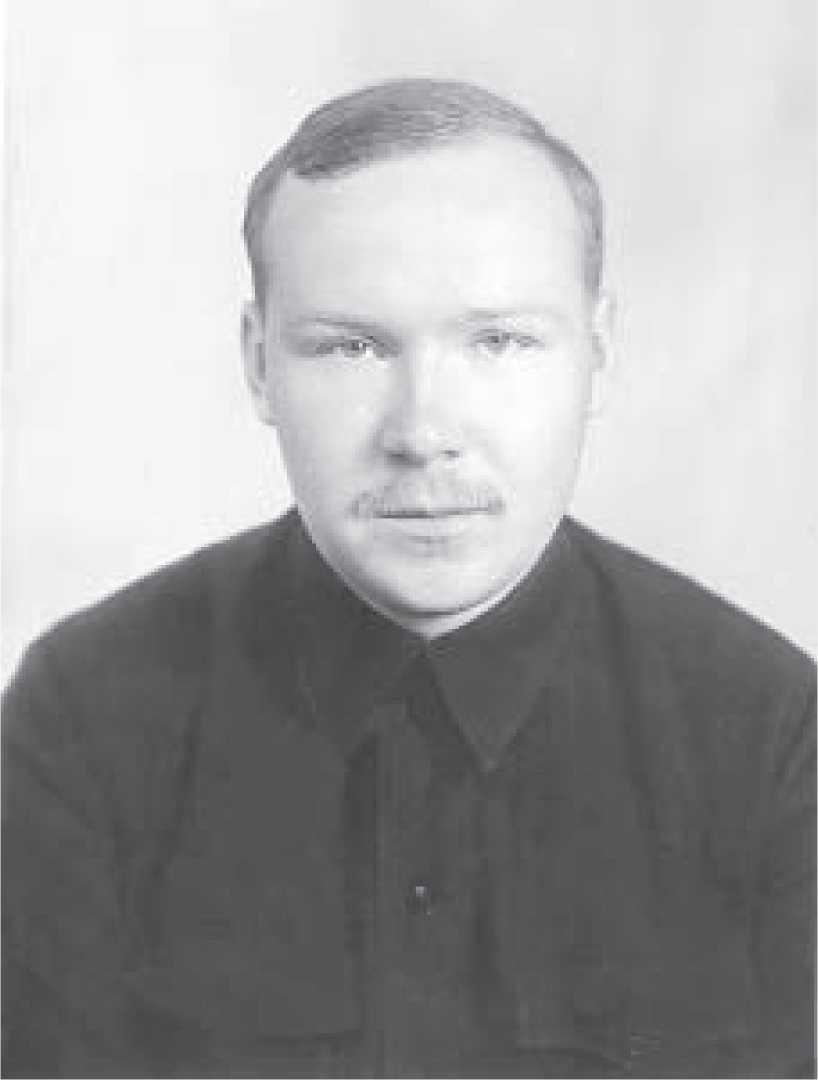 А.А. Формозов - аспирант, 1954 г.