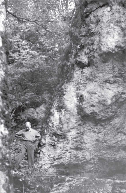 А.А. Формозов, Крым, конец 1950-х гг.