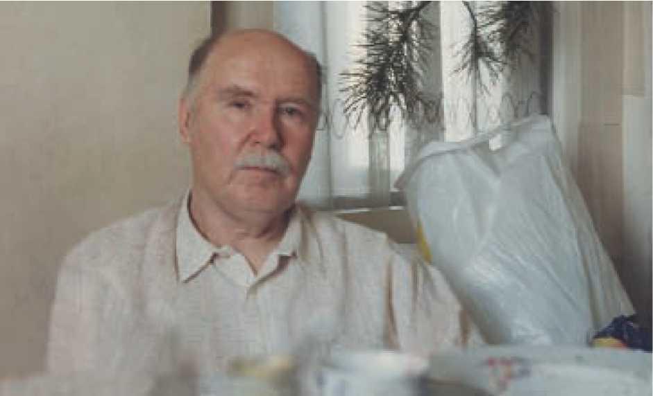 А.А. Формозов в Поленово, 2005 г.