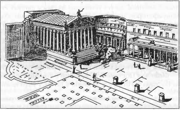 Форум Августа в Риме. Реконструкция